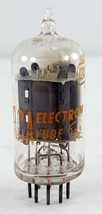 RCA 12AU7A Side Getter Vacuum Tube, Tested Strong EV=97 - $14.85