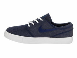 HOMBRE Nike Zoom Stefan Janoski Cnvs Zapatillas Azules Void Rojo 615957 403 - $36.34