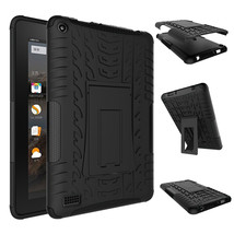 """Rugged Hybrid Protective With KickStand Case For Amazon Fire 7"""" 2015 - B... - $18.98"""