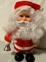Santa Claus Vintage Figure 9 Inch  - $11.29
