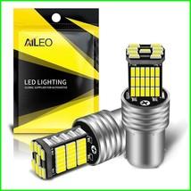AILEO 2PCS 1156 BA15S P21W S25 7506 LED Bulbs High Power 45pcs 4014SMD S... - $5.24