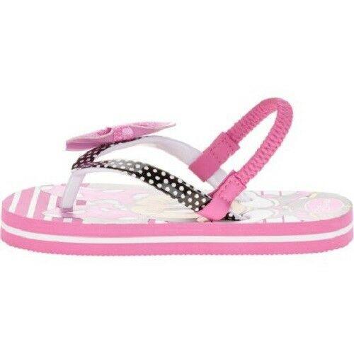 Disney Minnie Mouse Toddler Girls Beach Flip Flops Sandals Sizes 9-10 ,11-12 NWT