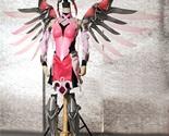 Overwatch Angela Ziegler Mercy Skin Pink Cosplay Armor for Sale - $246.05 - $369.55
