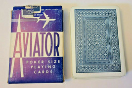 Blue Aviator Poker 914 Deck of Playing Cards   (#015) image 2