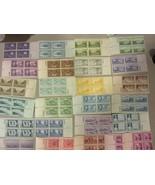 USA ANTIQUE PLATE BLOCK ALL DIFF. 25 MNH 3 CENT Plate Blocks PO FRESH FREE SHIP - $12.82