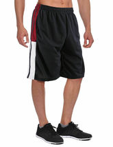 Men's Athletic Mesh Workout Fitness Training Basketball Sports Gym Shorts image 6