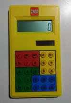 LEGO Calculator Yellow Exclusive Solar Powered School Classroom - $14.84