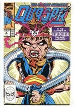 QUASAR #9-1990-First appearance Captain Atlas-comic book - $25.22
