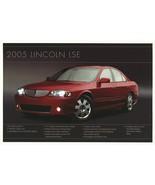 2005 Lincoln LSE EDITION sales brochure sheet US 05 LS - $8.00