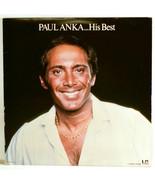 Vinyl Album Paul Anka His Best 1977 Liberty LN 10000 - £5.25 GBP