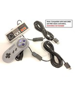 Pair of Controller Extender Cable Cords For Nintendo NES SNES Classic Mini - $11.99
