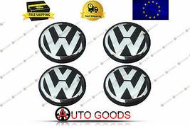 Volkswagen 70mm Casquillo central de rueda Cubiertas del cubo Llantas Juego... - $23.52