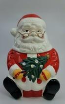 Everday Gibson Santa Claus Christmas Cookie Jar - $15.99