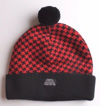 Ten 10 Deep New York The Mighty Tenth Division Houndstooth Pom Beanie Knit Cap image 2