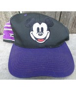 Purple Black Mickey Mouse Cap Disney - $18.00