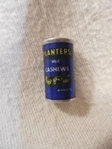 Vintage 1980's Planters Peanut Mr Peanut Miniature Aluminum Whole Cashew... - $5.95