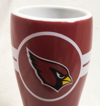 """Arizona Cardinals NFL  4-1/4"""" Shot Glass - Red Opaque - Officially Licensed - $6.88"""