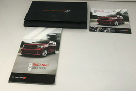 2013 Dodge Durango Owners Manual Handbook Set with Case OEM Z0A613 - $67.19