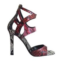 """NIB! $1,195 TAMARA MELLON """"Fatale"""" Ombre Snakeskin Strappy Sandals Size 38.5/8.5 - $387.10"""