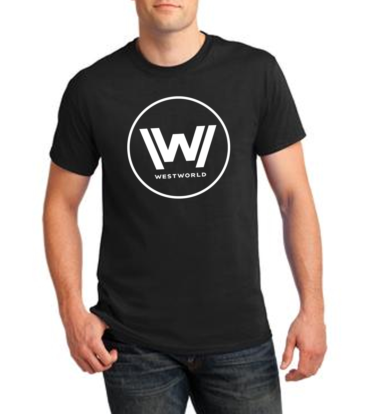 Westworld Logo T-Shirt TV Show HBO Geek Nerd Sci-Fi Gift