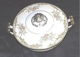 Noritake China Nana Rosa Pattern # 682 Sugar Bowl with Lid AB 336-K Vintage image 1