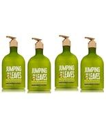 Bath & Body Works Jumping In Leaves Nourishing Hand Soap 8 fl oz x4 - $47.50