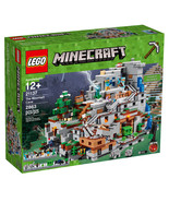 Lego Minecraft the Mountain Cave 21137 New in Box Slight Box Wear - $316.75