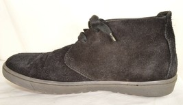 Vince shoes boots hi top US 8 EU 41 black suede leather upper leather lining image 1