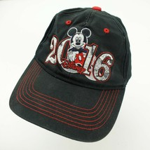 Disney 2016 Mickey Mouse Youth Ball Cap Hat Adjustable Baseball - $13.85