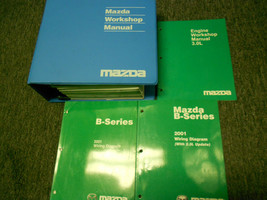 2001 Mazda B-Series Truck Service Repair Shop Workshop Manual Set OEM Fa... - $89.05