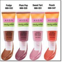 Avon Candy Sorbet Lip Gloss Peach New  - $14.99