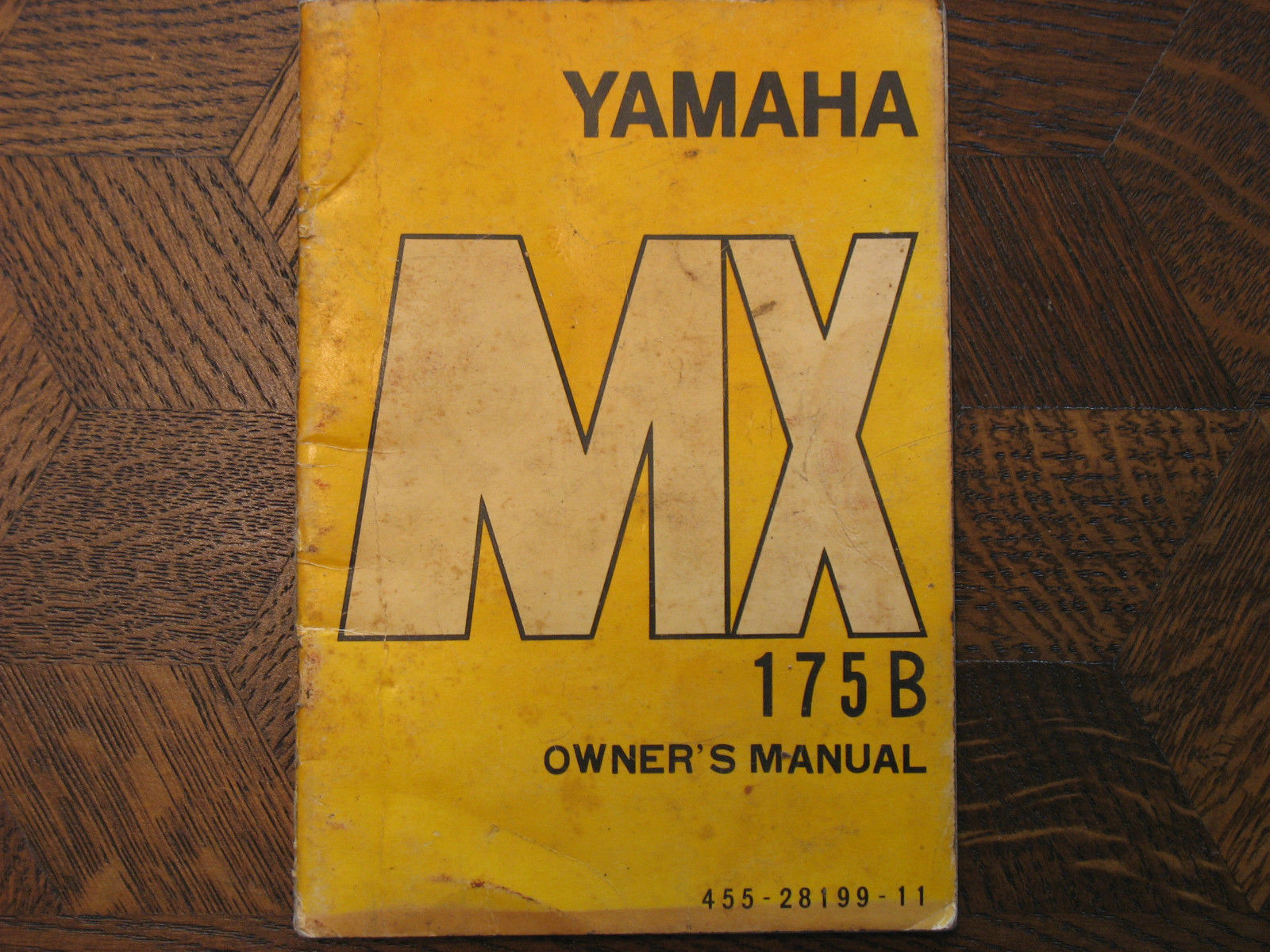 yamaha mx 175 owners manuals online