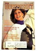 Vintage 1990 Workbasket Magazine Knitting Crochet Needlepoint Sewing Fas... - $4.21