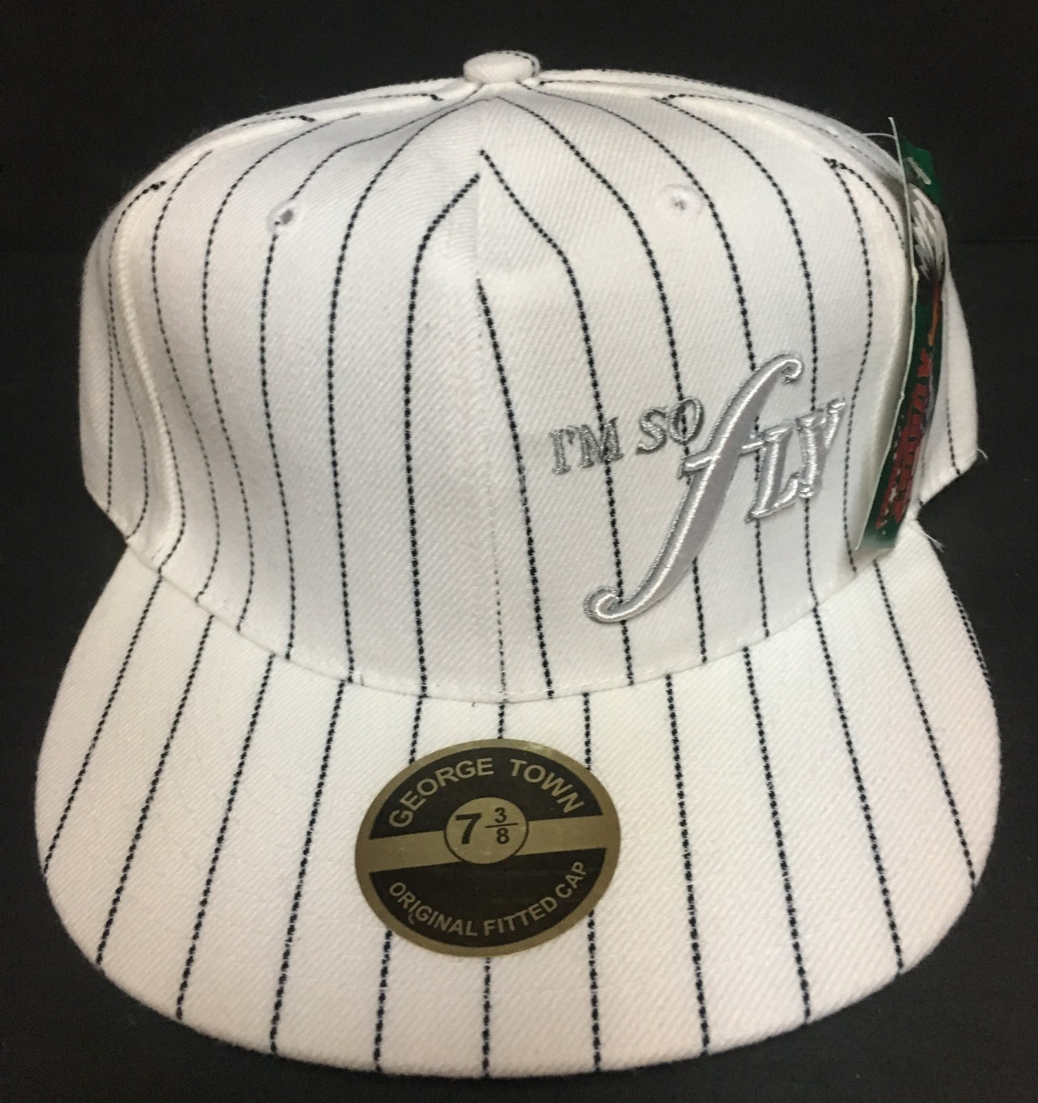 I'M SO FLY Authentic August Sportswear Hat Sz 7 3/8