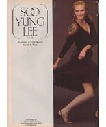 1983 Soo Yung Lee Lillie Rubin 2-page Sexy Legs Vintage Fashion Print Ad... - $7.13