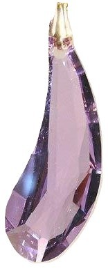 Swarovski 38mm Violet Crystal Fairy Wing Prism