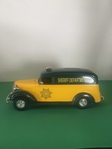 Collectible Toy Bank Sheriff Paddy Wagon - $11.30