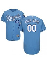 New Custom NAME & NUMBER Jersey Light Blue FB Personalized Men's Kansas ... - €36,52 EUR