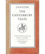 THE CANTERBURY TALES Chaucer A New Translation by Nevill Coghill FAT OOP... - $9.99