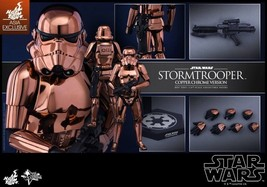 New Hot Toys 1/6 Star Wars Stormtrooper Copper Chrome Ver Storm Trooper ... - $395.99