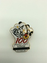 100 Years Of Magic -  2001 Passholder WDW Dinsey Pin - $12.00