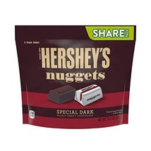 HERSHEY'S Nuggets Candy, Special Dark Mildly Sweet Chocolate, 10.2 Ounce - $11.99