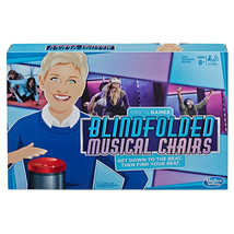 NEW SEALED Hasbro Ellen's Games Blindfolded Musical Chairs Game Ellen De... - $23.05