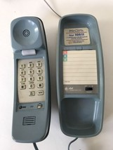 At&T Push Button Corded Phone Land Line Blue Att - $17.33