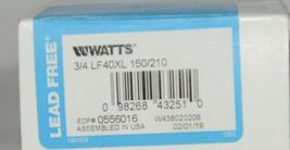 Watts 0556016 Temperature Pressure Safety Relief Valve Lead Free image 6