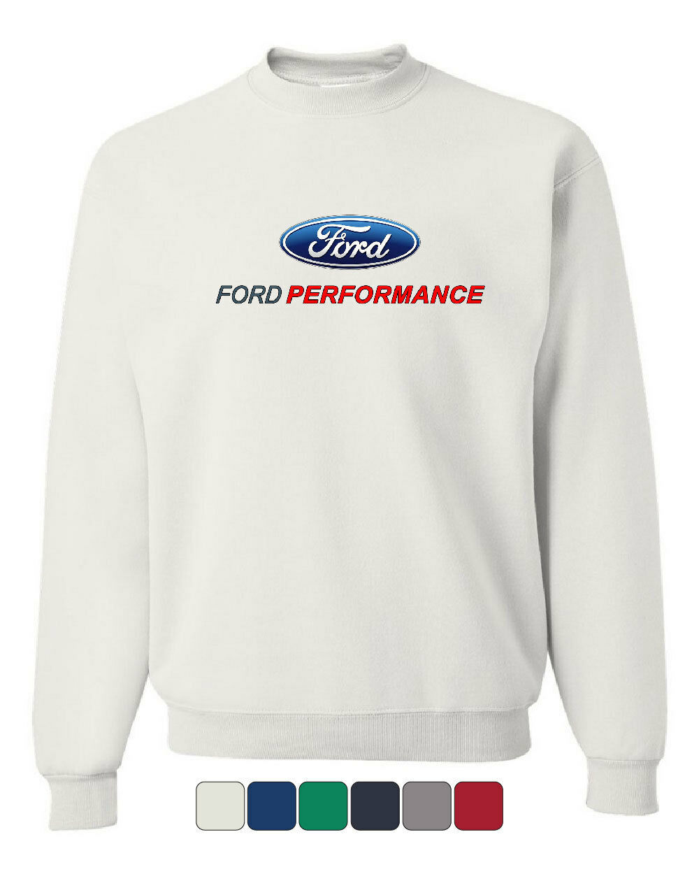 Primary image for Ford Performance Crew Neck Sweatshirt Ford Mustang GT ST Racing