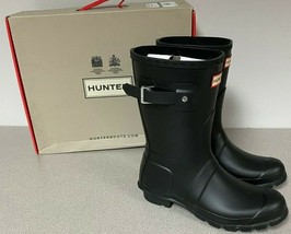 Hunter Womens Original Short Boots - Black New! - $99.99