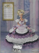 Crochet Doll Dress Pattern-Annie Potter Original-Miss January 1997-Inclu... - $7.66