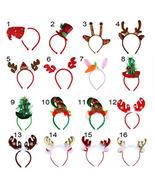 Christmas Headband Xmas Tree Hair Hairband Hair Accessories TkYggin (15) - $19.80