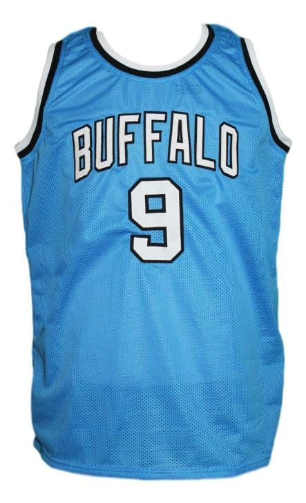 Randy smith  9  buffalo braves aba retro basketball jersey light blue   1